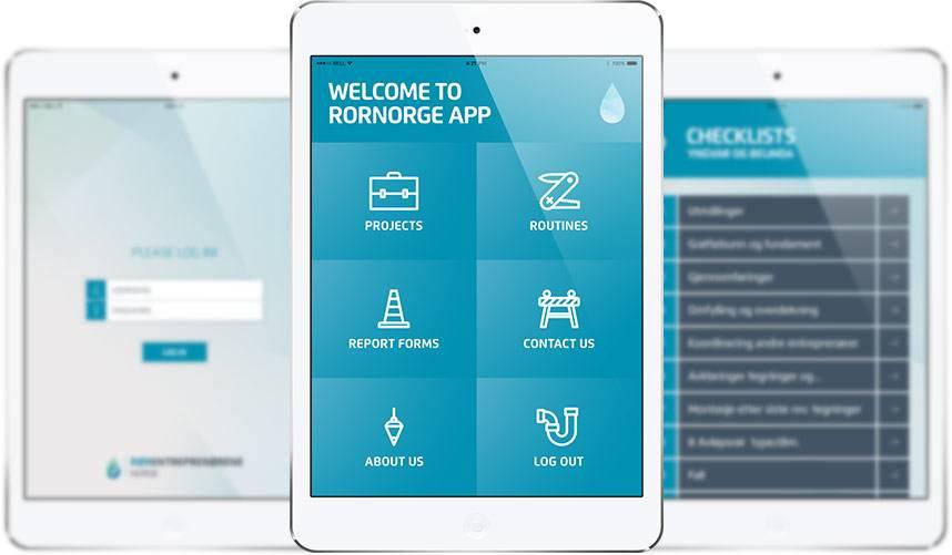 Rornorge mobil applikáció fejlesztés