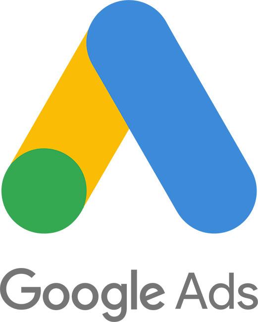 Google Ads mobil háttér