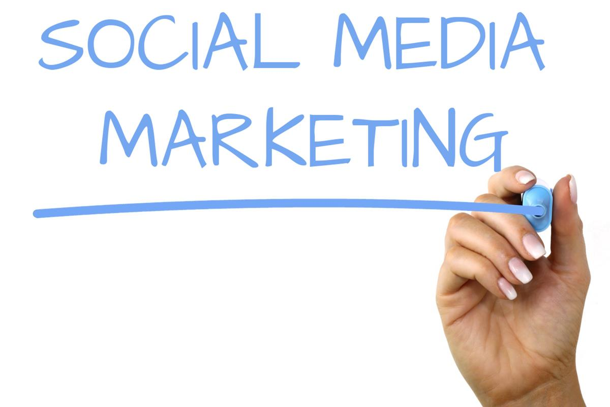 Közösségi média mobil háttér